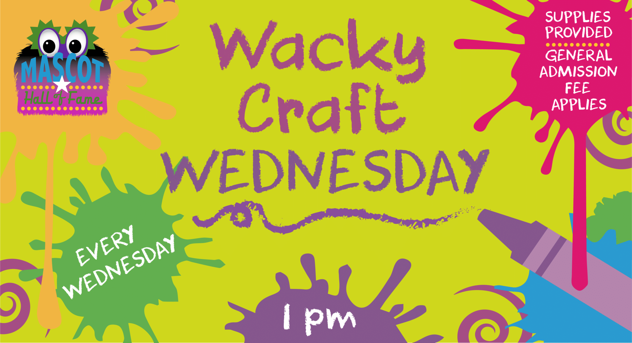 MHOF Wacky Craft Wednesday