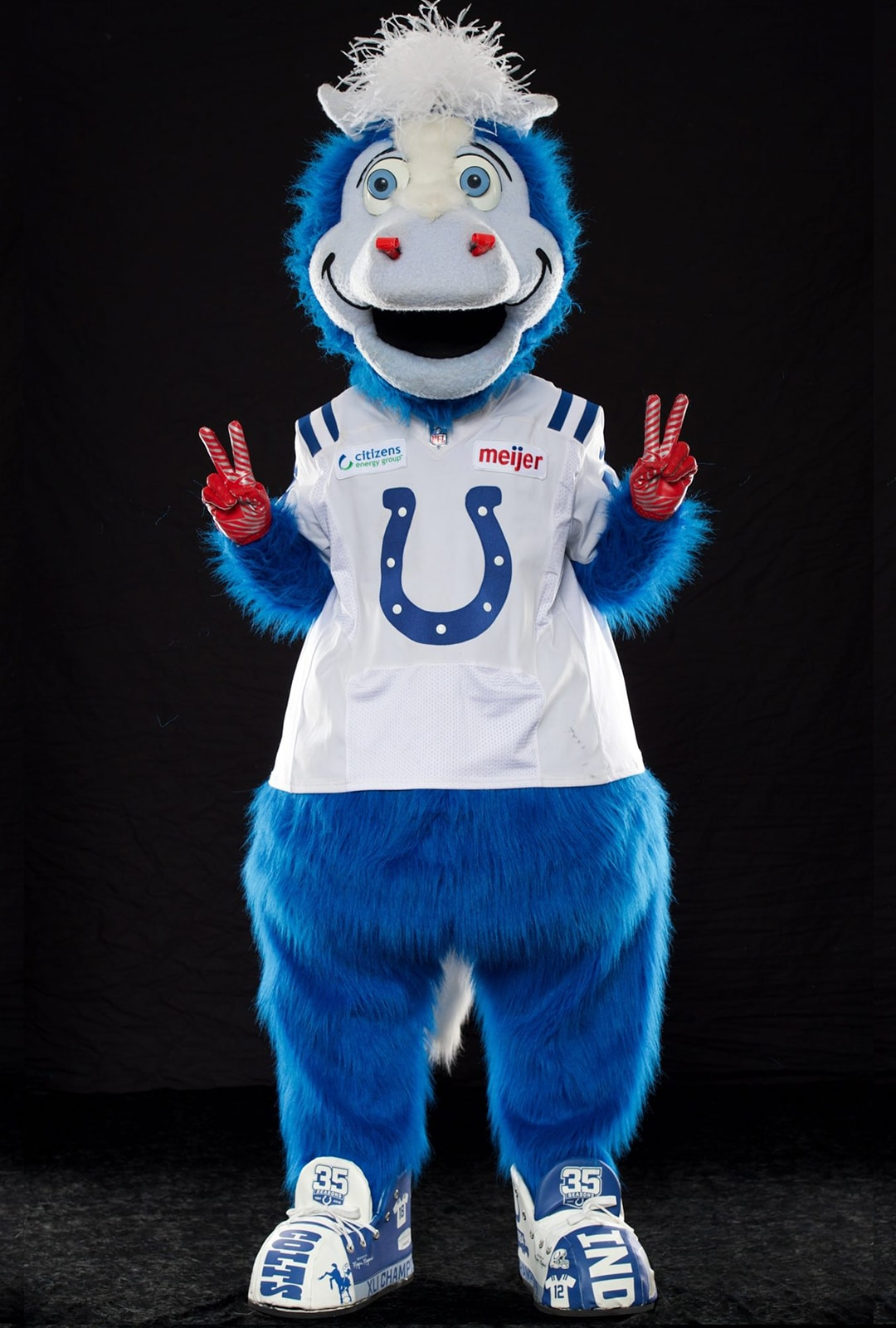 BLUE of the Indy Colts