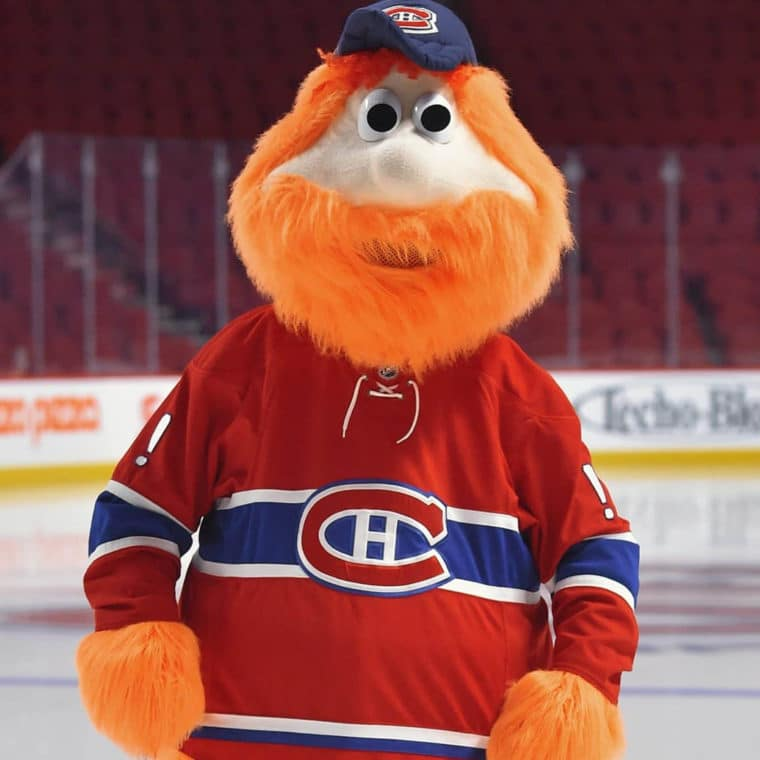Youppi! of the Canadiens de Montreal