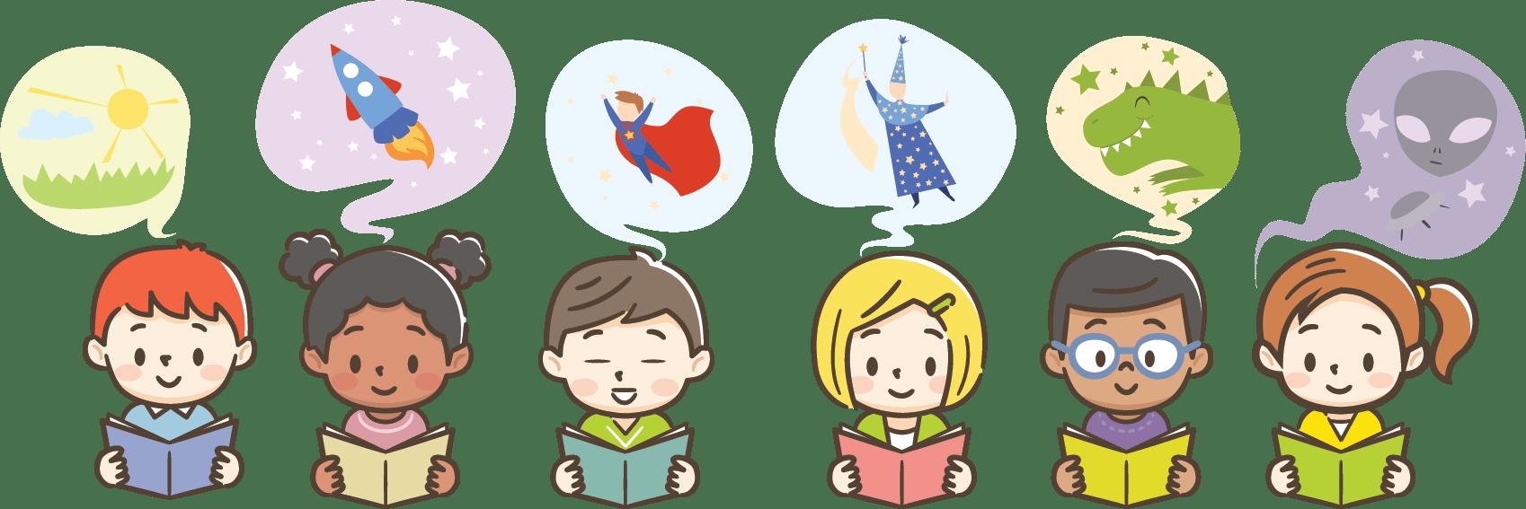 Kids W Books 5