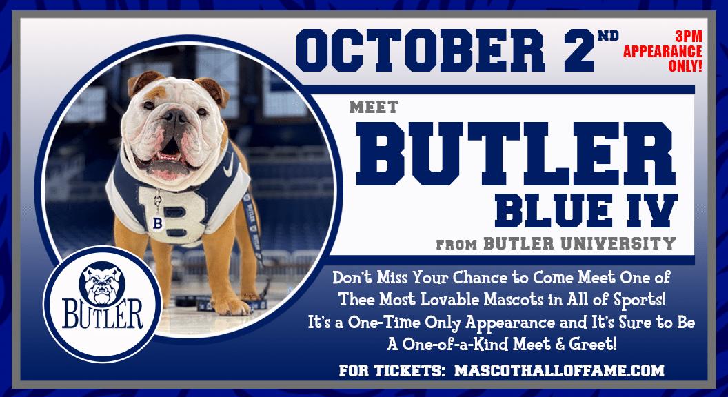 LED BOARD Meet The Mascot Butler Blue