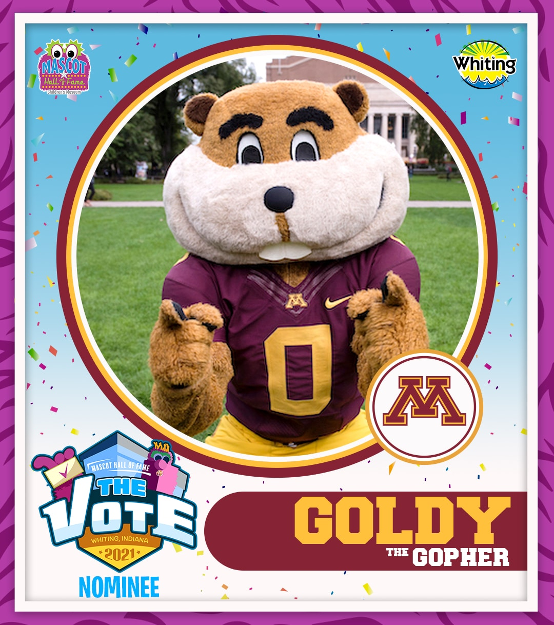Goldy the Gopher photo