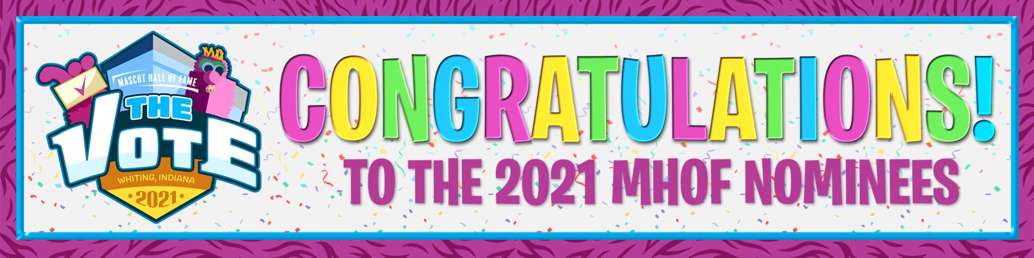 MHOF The Vote Congrats Website Banner