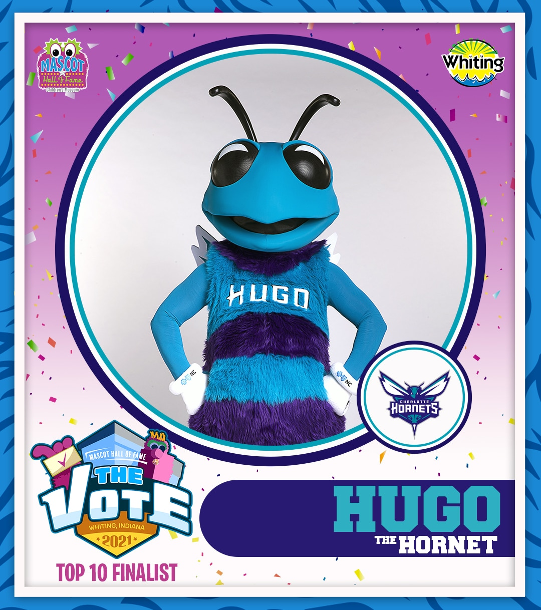 Hugo the Hornet photo