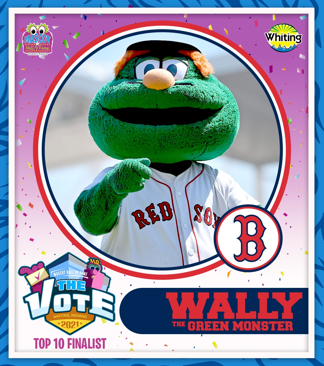 Wally the Green Monster photo